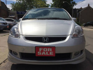 2007 Honda Fit Sport Hatchback ***NO ACCIDENT***LOW KMS***