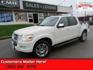 2008 Ford Explorer Sport Trac Limited  V8, LEATHER, SUNROOF, DVD