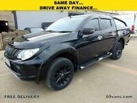 Used, 2016 16-REG, MITSUBISHI L200 BARBARIAN, AUTO, BLACK PACK, FULLY LOADED... for sale  Nelson, Lancashire