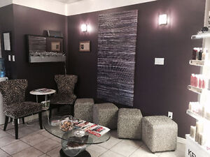 Chair Available for rent in uptown Salon Kitchener / Waterloo Kitchener Area image 2
