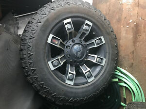 6 bolt rims metal mulisha and old school Chevy rally rims