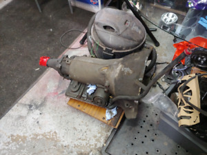 Th700-r4 transmission with lock up torque sbc