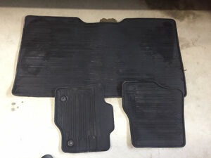 2015 Factory Ordered Ford 150 Rubber Floor Mats
