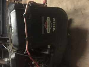 18 hp brigs and Stratton engine