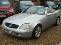 1998 Mercedes-Benz SLK 2.3 SLK230 KOMPRESSOR 2d 190 BHP Convertible Petrol Autom