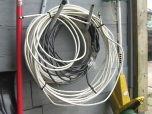 Coaxil cable 200ft and hardware