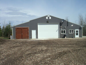 Acreage with shops land for sale in alberta kijiji for Shop with living quarters for sale
