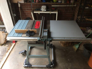 Delta Table Saw with Precision Guide 1.5hp