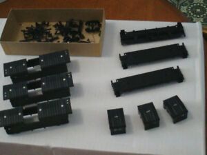 HO scale vans (caboose) for electric model trains