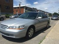 Honda Accord 2001-EX-178000km--In good condition