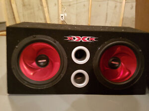 REDUCED Two 12 inch subs