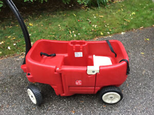 Step 2 Wagon with Tag Along Trailer (no hitch)