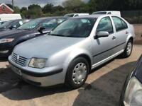 2002 02 Volkswagen Bora 1.6 2002.5 MY S Petrol 5 Speed Manual