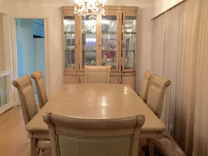Dining room Set, buffet and hutch