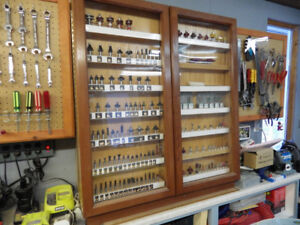 Router Bit Retail Display Cabinet