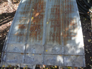 wanted: 4 foot wide roof panels from quonset hut.