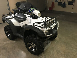 Honda 500 4x4 with power steering