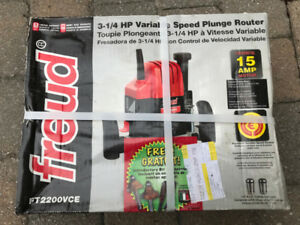 Plunge Router brand new 3 1/4 HP