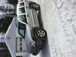 2002 Jeep Liberty Black Other