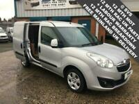 2015 VAUXHALL COMBO SPORTIVE SWB**AIR CON** SILVER 90BHP VERY CLEAN