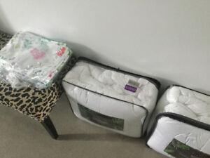 Couettes et couvertures de couette + cache oreiller