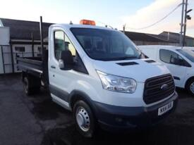 Ford Transit 2.2 Tdci 100Ps T350 Tipper S/C DIESEL MANUAL WHITE (2014)