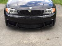 BMW 1-Series M bumper