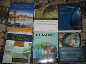 Finance textbooks