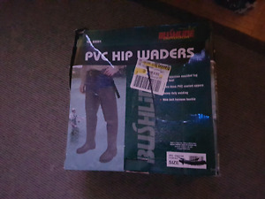 Size 9 pvc hip waders
