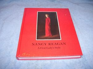 Book Nancy Reagan  First Lady's Style -  Never open