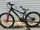 "Carrera Luna girls 24"" wheel mountain bike ages 9-12"