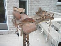 Vintage Looking Saddle