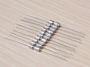 Kayiko-3mm-x-10mm-Fast-Blow-Glass-Fuses-1A-250V-10pcs