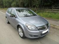 2007 '57' VAUXHALL ASTRA 1.6 16v SXi 5 DOOR HATCH IN MET SILVER 99,000 MILES