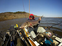 Guided Sturgeon Fishing