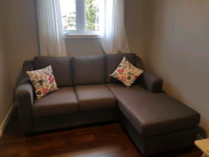 Sectional sofa-bed