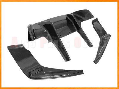 EX Type Carbon Fiber Rear Bumper Diffuser For 2012 2017 BMW F06 F12 F13 M6 Only