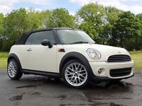 MINI CONVERTIBLE 1.6 One (Salt pack) 2dr (white) 2013