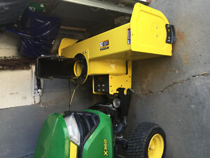 Snowblower for John Deere X360 model, 2 yrs old