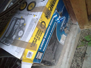 Brand New Generator 3300W with Brand new wheels for it