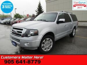 2013 Ford Expedition Max Limited  4X4 8-PASS NAV ROOF PWR-BOARDS