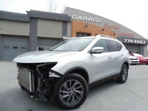 Nissan Rogue *SL* AWD FULL LOADED, BAS KM, LÉGER ACCIDENTÉ  2016