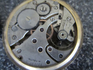 "A 2"" diameter Waltham pocketwatch with ceramic face and works v Gatineau Ottawa / Gatineau Area image 6"