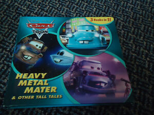 Heavy Metal Mater and Other Tall Tales Disney Hardcover 3in1Book