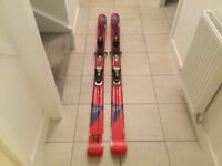 Atomic stomp twin tip skis 176cm with atomic xentrix 310 bindings