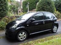 Toyota AYGO 1.0 ( 67bhp ) ( a/c ) MMT 2009MY AYGO Black (a/c) AUTOMATIC, 69 MPG