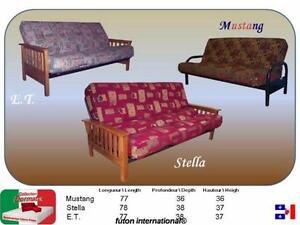 Besoin d'un futon ? Un futon: base en métal et matelas 10''