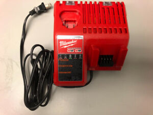 Milwaukee 18v and 12v battery charger. never used $35obo