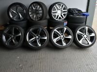 """20"""" RS7 Style alloy wheels will A4 A6 ETC"""