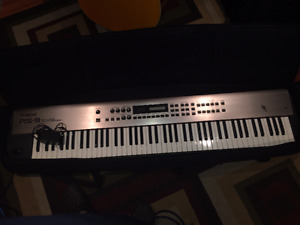 Roland RS9 with Yorkville stand